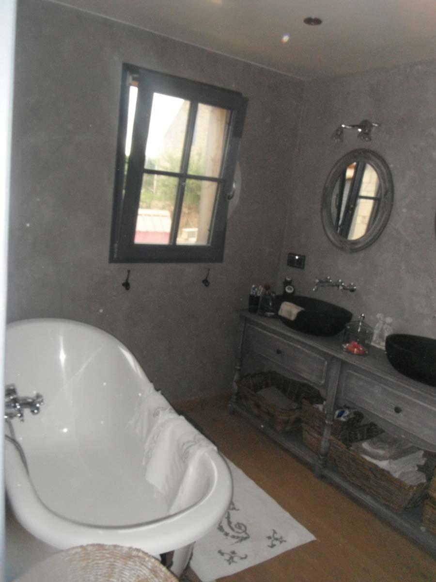 enduit la chaux dans une salle de bain - Enduit A La Chaux Salle De Bain